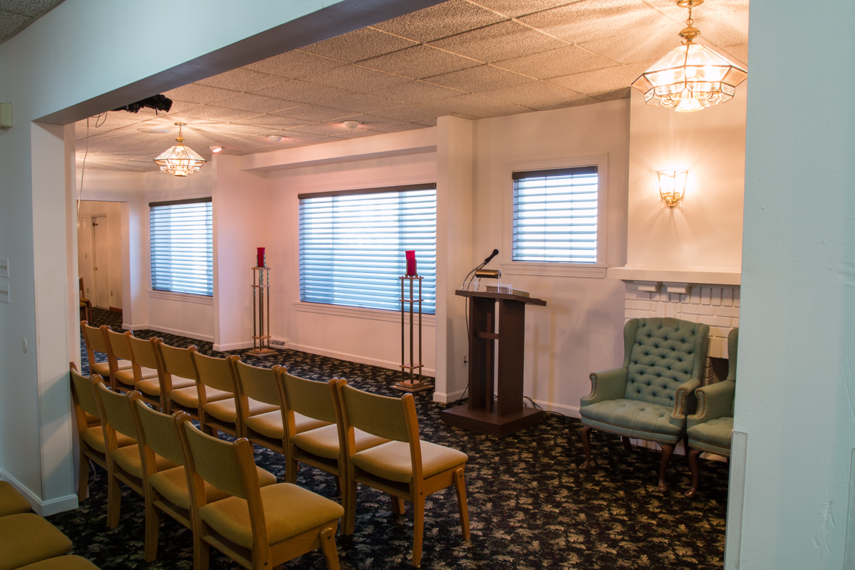 Tour Our Facility | H M  Martin Funeral Home